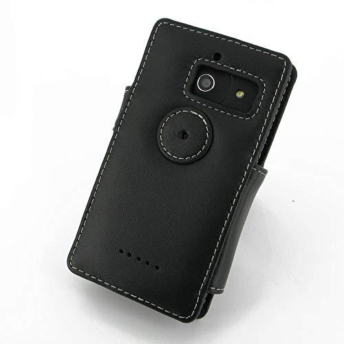 PDair Handarbeit Leder Hülle - Leather Book Case for Huawei Ascend D2 - 6