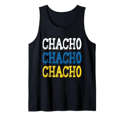 Chacho Diseño Divertido Para Canarios De Las Islas Canarias Camiseta sin Mangas