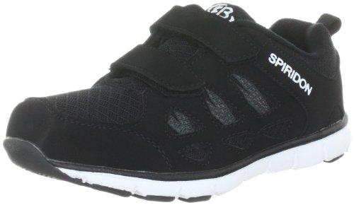 Brütting SPIRIDON FIT V Jungen Sneaker, Schwarz/ Weiß, 32 EU