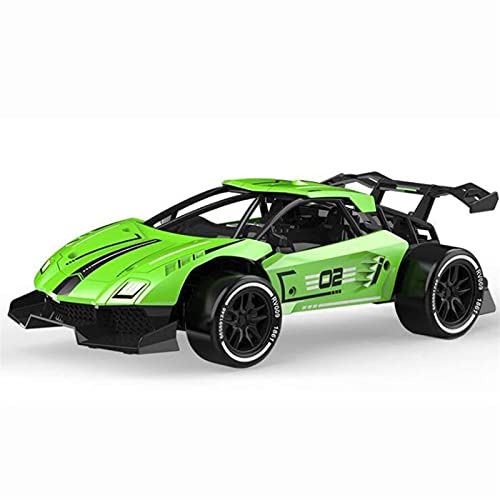 Kikioo New 1:16 Remote Control Off-road Car Racing Children Kids Radio Remote Control Car 2.4Ghz High-speed Remote Control Car 4WD Toy Off-road Vehicle Rechargeable Battery Outdoor Game Gift