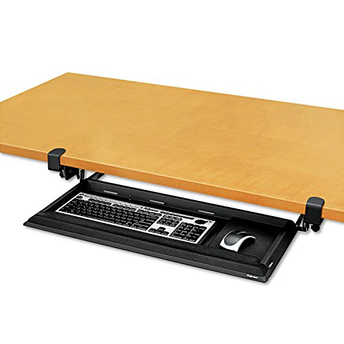 FEL8038302 - Fellowes Designer Suites DeskReady Keyboard Drawer