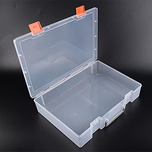 MUY SEHR Lego Building Blocks Maker Drohne Aufbewahrungsbox Rechteckige Tragbare Kunststoffbox Transparente Verpackung Box Aufbewahrungsbox für Frauen
