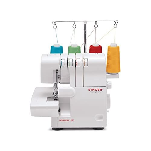 Singer ProFinish 14CG754 Serger 2-3-4 Thread Capability Overlock with Blind Hem,