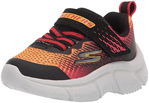 Skechers Go Run 650 Norvo Sneaker, Black, 28 EU