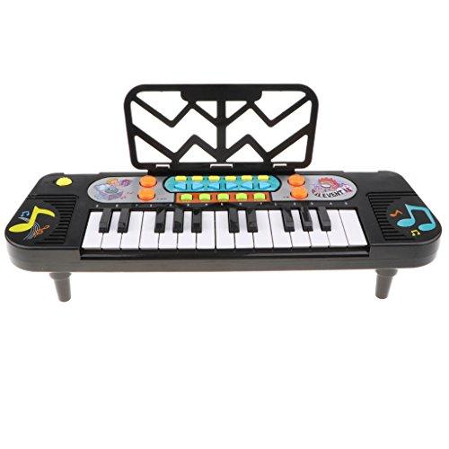 F Fityle Instrumento Musical de Teclado de órgano de 25 Teclas de Juguete de Piano Electrónico para Niños