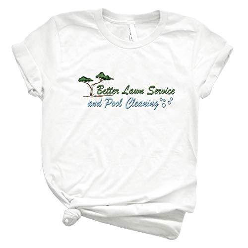 Better Lawn Service 77 Men Graphic Tee Vintage Retro Style Shirt for Women – Customize Women Best T Shirt