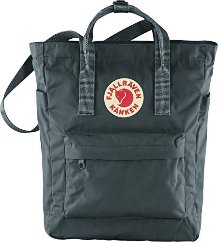 Fjallraven, Kanken Totepack Backpack with 13' Laptop Sleeve for Everyday Use and Travel, Graphite