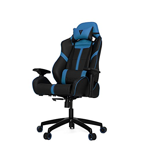 VERTAGEAR S-Line 5000 Gaming Chair, Large, Black/Blue blue chair gaming