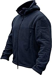 Our size XL and XXL is a little large than usually, Please check more information on Description Double layer thickening Collar, warm and windproof Flag Patch panels on each arm,multiple exterior pockets Zipper handwarmer pockets. Thermal Design Cuff...