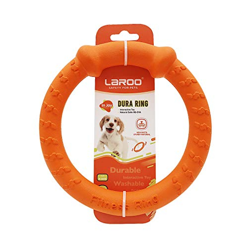 LaRoo Jouet pour Chien Frisbee Dog Disc, Disque de...