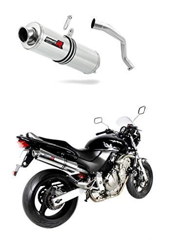 CB 600 F Hornet Escape Moto Deportivo Redondo Silenciador Dominator Exhaust Racing...