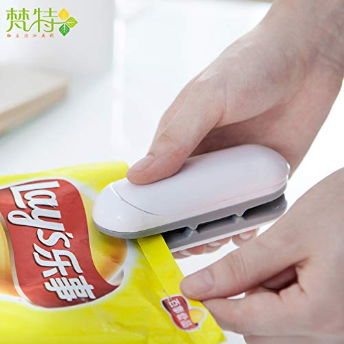 Buy Bargain Mini Bag Sealer,Portable Handheld Heat Sealer Vacuum Sealing Machine Plastic Bags Food S...
