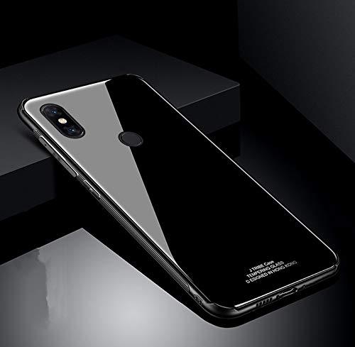 Custodia® Harte Schale Hülle für Xiaomi Mi Mix 3 (Schwarz)