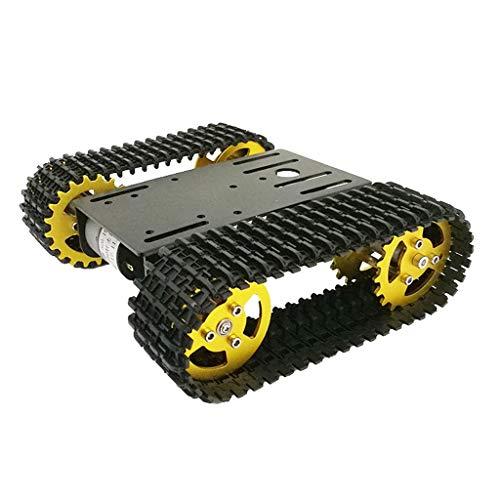 harayaa T101 Aluminio Roboter Tank Chasis Smart Auto Plataforma Kits de Bricolaje
