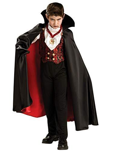 Transylvanian Vampire Halloween Costume - Child Size Medium 8-10