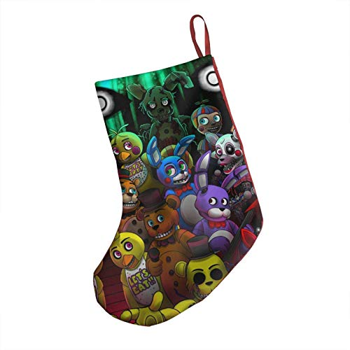 Five Nights At Freddy'S Holiday Gift Socks Decoration Christmas Stockings 18 Inches