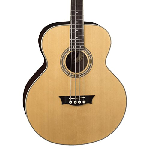 Electric Acoustic Bass Natural Satin Finish