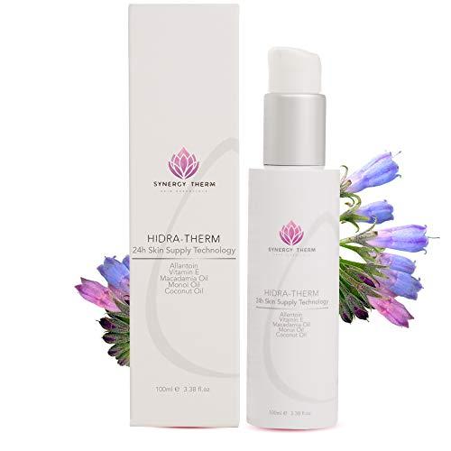 Hidra Therm, Crema Hidratante para cara y cuerpo, Hidromanil, Retinol, Vitamina A, Vitamina E, Dermatológicamente probada
