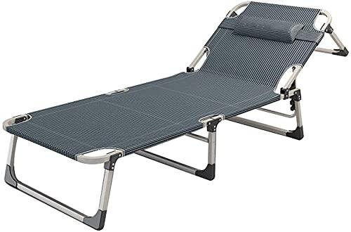 Tumbona reclinable para exteriores en tela Oxford resistente a la intemperie con cero gravedad para jardín, cama plegable ajustable (color: tamaño de la silla: 190 x 65 x 30 cm) - 190 x 65 x 30 cm