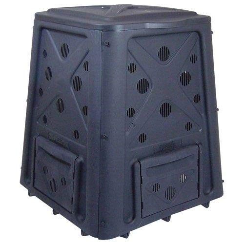 Cheap Redmon Since 1883 8000 Compost Bin, Full, Black