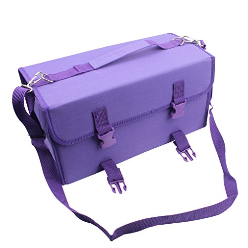 NIUTOP 120 Slots Marker Pen Case Markers Carrying Bag Holder for Alcohol Marker and Art Sketch...