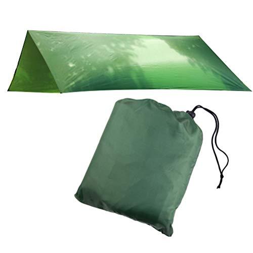 Yardwe Extérieur imperméable Pare-Soleil Tente Maison Pare-Soleil abri pour Jardin Camping Patio (Vert)