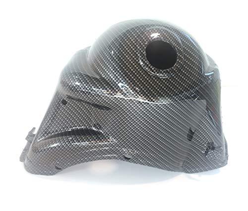 Boita 2.0 - Gorro de refrigeración para Vespa 125 Primavera ET3 carbono negro brillante