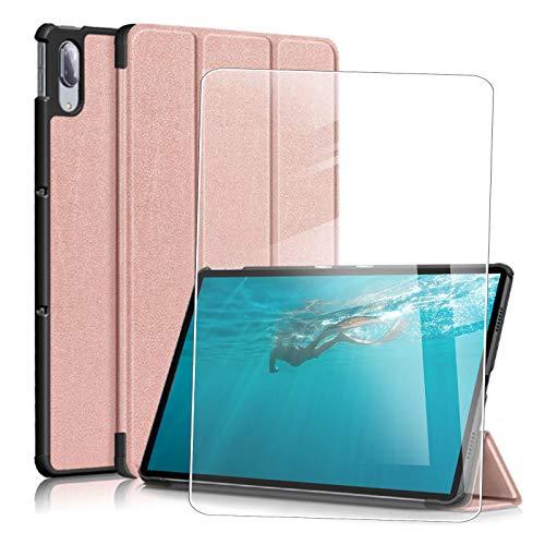 JIENI Funda para Lenovo Yoga Tab 13 (13.0) Pulgadas, Funda Protectora anticaídas, Funda estabilizadora magnética + 1 Pieza de Protector de Pantalla