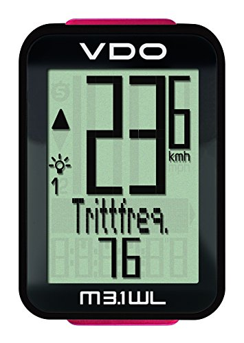 VDO m3.1 WL Unisex Adult Counter, Black
