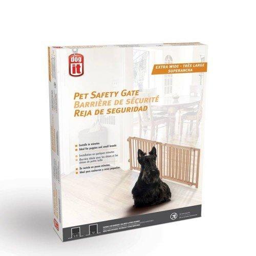 Dogit 70622 Pet veiligheid poort, 121,9-203,2 cm W x 45,7 cm H