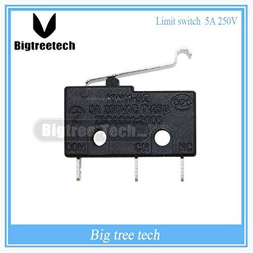 ANLIYANI 10PCS Limit Switch 3 Pin N/O N/C All New 5A 250VAC KW11-3Z Micro Switch Factory Direct Sale