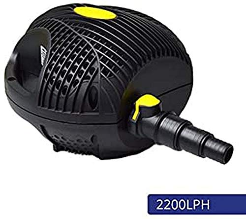 Laguna Pumpe Powerjet Max-Flo 2200 - Wasserfall- und Filterpumpe für Gartenteiche bis 4400l, Schwarz