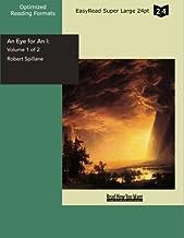 An Eye for an I: Living Philosophy: Easyread Super Large 24pt Edition: 1