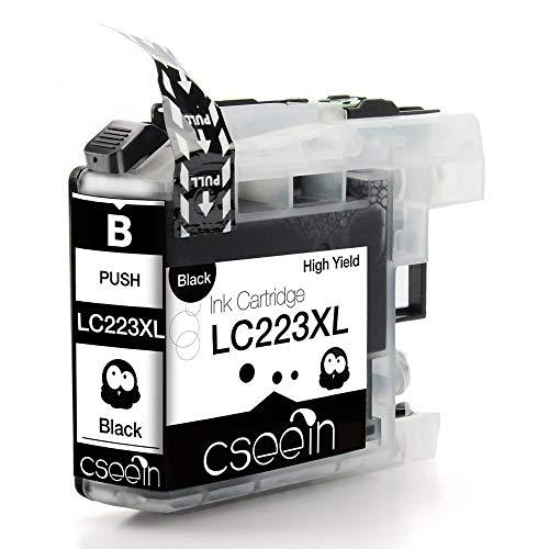 WXX 5pcs LC223 XL LC Cartucho 223 de Tinta for Impresora Brother DCP-J562DW J4120DW MFC-J480DW J680DW J880DW J4620DW J5720DW J5320DW