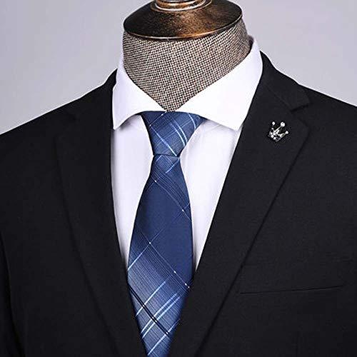 MKXF Negocio del Lazo Vago Cremallera Estilo Masculino Profesional Un Tirón Negro Camisa Corbata Cremallera Juego De Los Hombres
