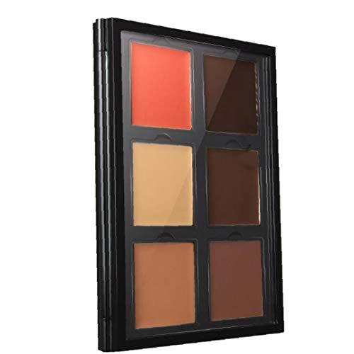 Palette Correctrice 6 Couleurs Visage Contournage Surligneur Palette Correcteur Fondation Maquillage Palette Cosmétiques Palette Style-c Étanche