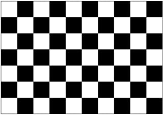 SSK Checkered - Racing Outdoor Flag - Large 3' x 5', Weather-Resistant Polyester