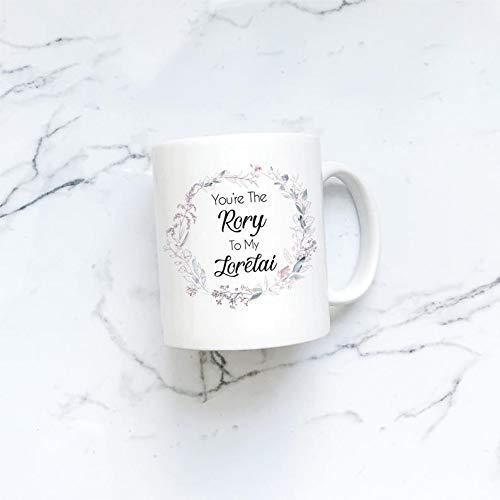 Kaffeetasse, 325 ml, Rory to my Lorelai | Lorelai Rory Becher | Gilmore Girls | BFF Mug | Besties Mug | Together Forever Mug | Gilmore Girls Kaffeebecher | Besties