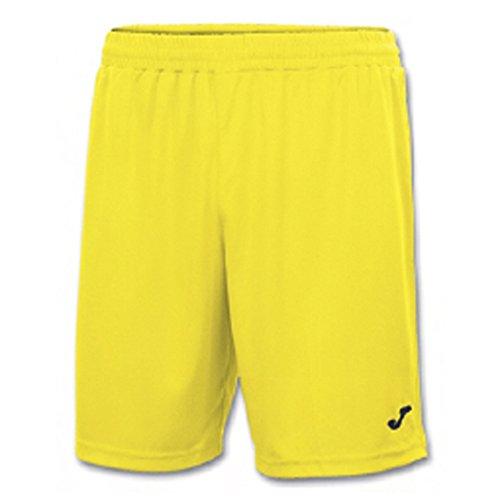 Joma Nobel Pantalones Cortos, Hombres, Amarillo, 8XS-7XS