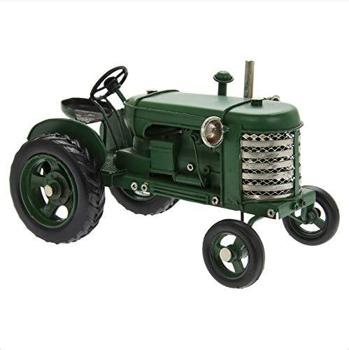 The Leonardo Collection LP45701 Vintage Tractor Ornament, Green, 17x10x10cm