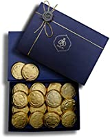 Queen & Bee Semi Sweet Chocolate Coated Biscuit Gift Box (20pc, 480gm) (Diwali Gift Pack)