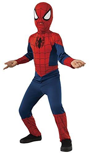 Spiderman-Disfraz Ultimate Classic Inf Talla L, (Rubie's Spain 880539-L)