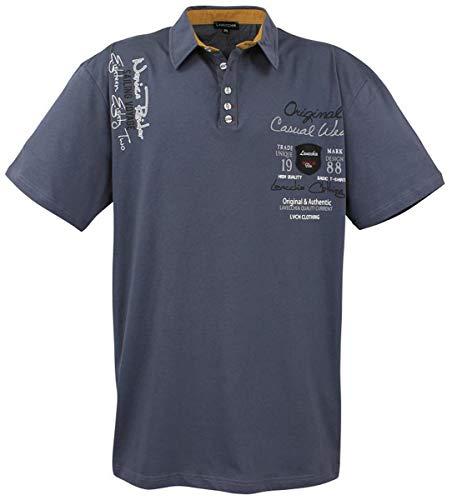 Lavecchia Herren Business Freizeit Poloshirt LV-610 Anthrazit Gr. 3XL