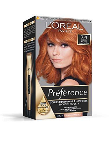 L 'Oréal Paris Préférence - Coloración permanente, cobre intenso