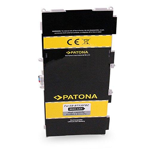 batteria tablet samsung 10.1 PATONA™ Batteria EB-BT530FBC Compatibile con Samsung Galaxy Tab 4 VE 10.1 LTE-A SM-T535 SM-T537