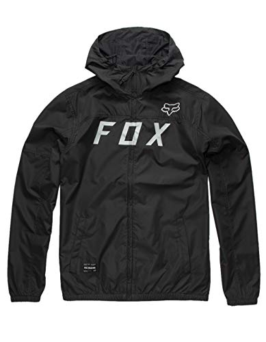 Fox Windbreaker Moth Schwarz Gr. S