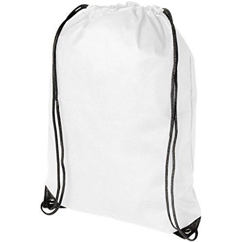 BULLET - Sac à cordon EVERGREEN (34 x 42 cm) (Blanc)
