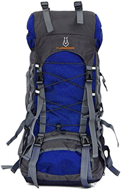 GWQGZ Leisure Sports Outdoor Backpack Men and Women Travel Waterproof Nylon Climbing Bag