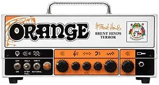 Orange Amps 4 String Electric Guitar Pack, Orange (BRENT-HINDS-TERROR)