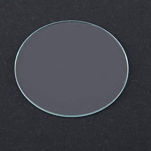 Herramienta de reparación de relojes, lente de reloj resistente a los arañazos, cristal de repuesto, cristal de reloj plano, lente de reloj, para reparación de relojes (38 mm), reparación de relojes